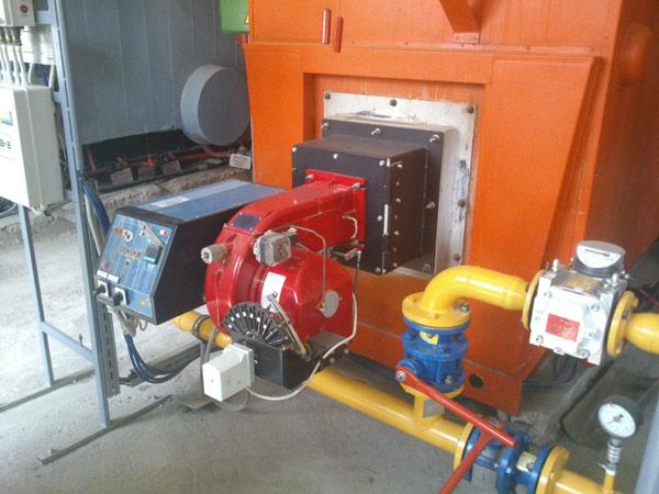 Модернизация котла Е-1,0-0,9 Unigas