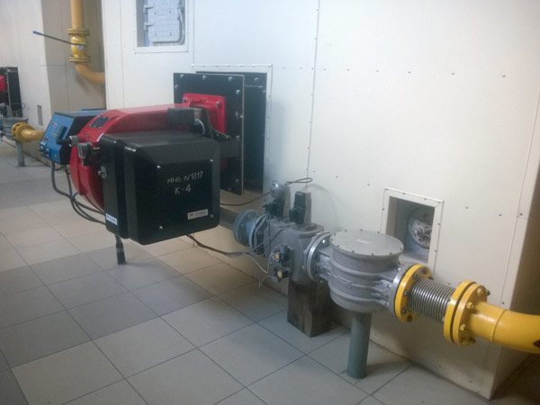 Модернизация паровых котлов ДКВр-6,5-13