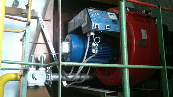 Модернизация водогрейных котлов КВГМ-10