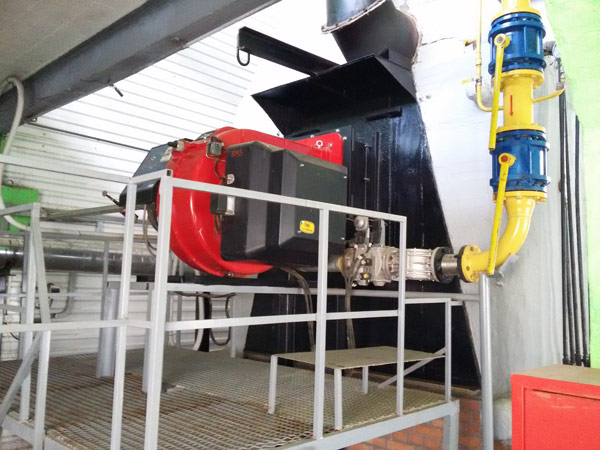 Модернизация котла КВГМ-10